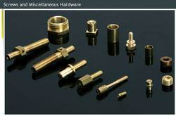 Screws and Miscellaneous Hardware