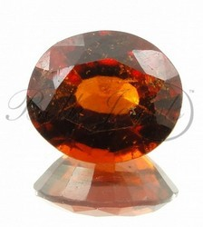Oval Cut Garnet Gomedh Loose Gemstone