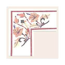 Pink Marble Borders Tile