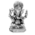 chaturbhuj gajanan white metal god idols figures