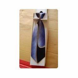 Blue Color Tie