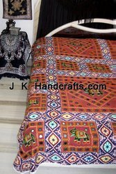 Jaipuri Reversible Hand Block Cotton Bed Sheet