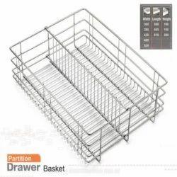 Partition Drawer Basket