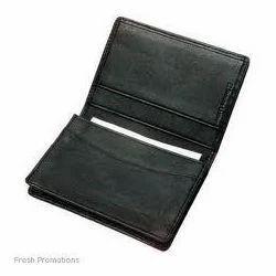 Leather Bi Fold card