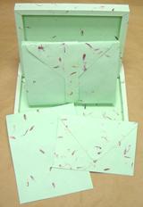 Aster Handmade Petal Paper Stationery Set