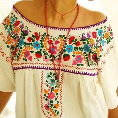 Dress Pieces Hand Embroidered Dress Manufacturer From Mumbai