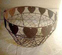 Designers wire basket
