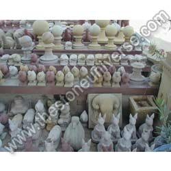Sandstone Animal Figures