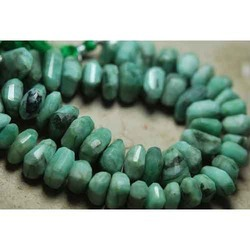 Natural Emerald Faceted Fancy Nuggets