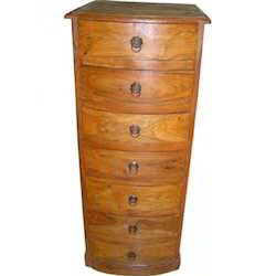 Bowfronted Chest of 7 Drawers