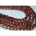 Pyrope Red Garnet Faceted Onion