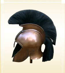 Armor Helmet Corinthian Troy