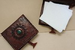 Leather Handmade Paper Notepads