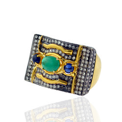 Designer Pave diamond Ring