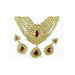 Bridal Kundan Ruby Set