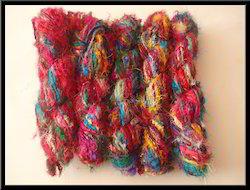 Recycled Sari Silk Yarns