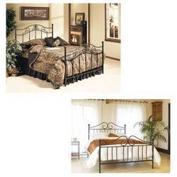 Wrought+Iron+Double+Bed