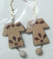 Terracotta Stylish Earrings