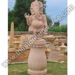 Sandstone God Statue