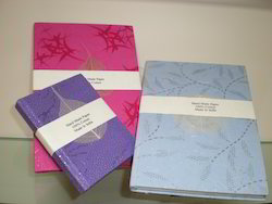 Handmade Paper Diary and Journal