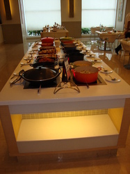 induction buffet warmer for hotel