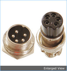 Metal Connector / Miniround Shell Connectors