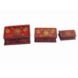 Three Box Set H/b, C/f, Ptd, Emb