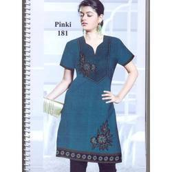 Embroided Kurtis