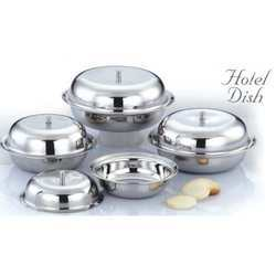 Hotel Dish Handi Pots Set