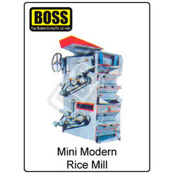 mini modern rice mill plant