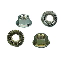Hex Serrated Flange Nuts