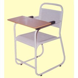 White Chair with Writing Pad