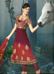 Hand Embroidery Suits Salwar