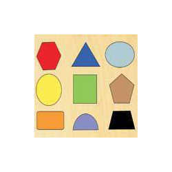 Shapes Board (Big) (Wooden)