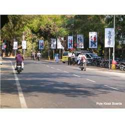 Pole Kiosks Boards