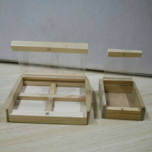 Wooden Coin Boxes