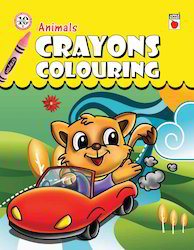 Crayons Coloring - Animals Books