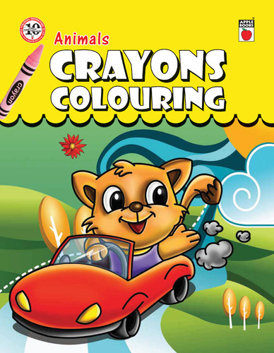 Crayons Colouring Books - Crayons Coloring - Animals Books Exporter ...
