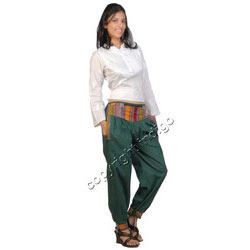 Cotton Money Belt Trousers