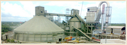 Cement Plants Erected