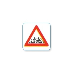 Cycle Crossing Sign Board