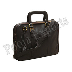 Leather Laptop Bag ( Product Code: PP612)