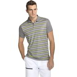 Mens Yarn Dyed Striped T-Shirts