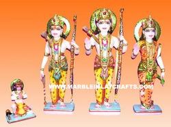 Marble Ram Darbar Family Statue