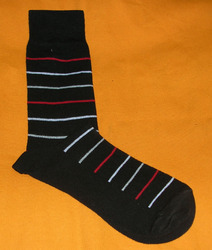 AOV /MN/ST/23 Men Stripe Socks