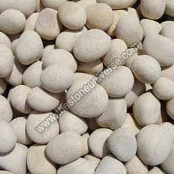 Yellow Round Pebbles