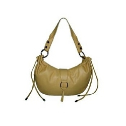 Chocolate Leather Ladies Handbag