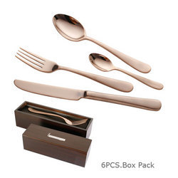 Monica Cutlery with Copper Finish