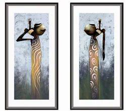 2 Piece Canvas Artl Paintings