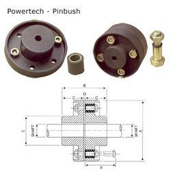 Industrial Pinbush Coupling